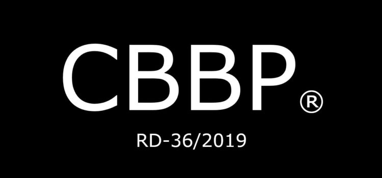 CBBP ® (registred) – zarejestrowany znak towarowy